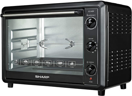 Sharp EO-60K-3 2000W Electric Toaster Oven with Convection Function, 60-Liter, 220V