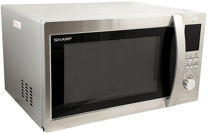 Sharp 1000 Watts, 34 Liters Microwave Oven, Stainless Steel - R-45BT(ST)