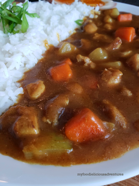 Easy Japanese Curry Rice
