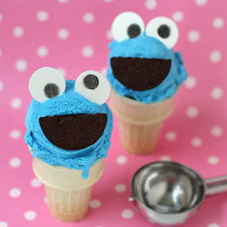 Cookie Monster Cone
