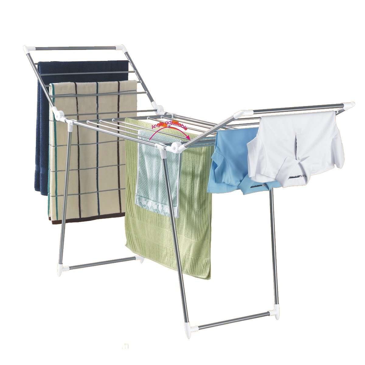 Maxplus Drying Rack w/ Dry Clothes 24Pegs