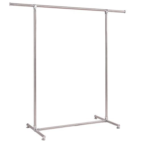 GOFLAME Clothes Garment Rack Heavy Duty Stainless Steel Hanging Drying Rack Home Dormitory Clothing Storage Organizer