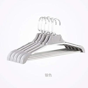 LE Aluminum Clothes Rack,Seamless Drying Rack Home Space Aluminum Hanger Non-Slip Clothes Support Multi-Function Clothes Hanging C