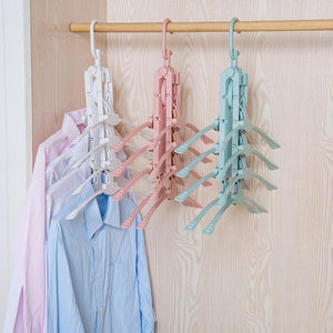 🔥 8 in 1 Magic Hanger 🔥 1PCS  Hang 8 clothes