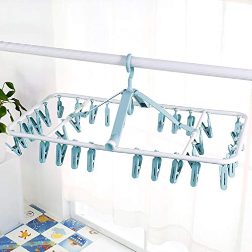 LE Baby Drying Rack,Hanging Socks Hanger Multi-Function Clip Baby Child Household Round Drying Rack Underwear Rack G