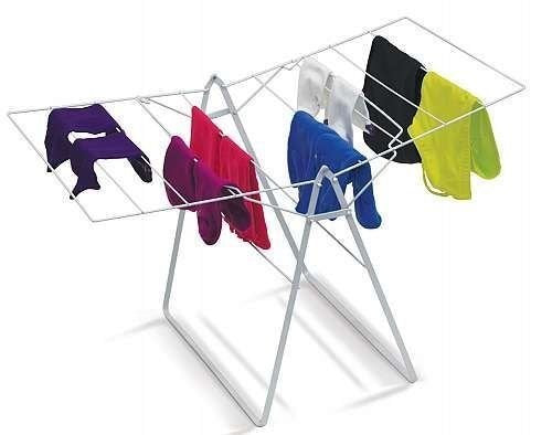 IdeaWork Foldable Drying Rack Laundry Folding Hanger Dry Dryer Storage Clothes: Mini Size !!!