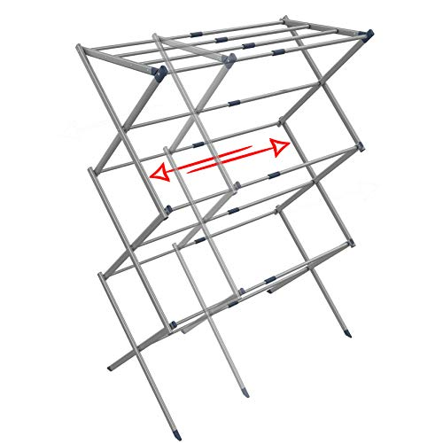 Clothes Drying Rack - Drying Rack - Laundry Drying Rack - Laundry Hanger - Baby Clothes Drying Rack - Folding Drying Rack - Portable Drying Rack - Accordion Drying Rack - Air Expandable Drying Rack