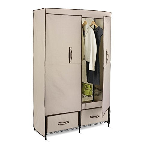 Honey-Can-Do Portable Wardrobe Storage Closet