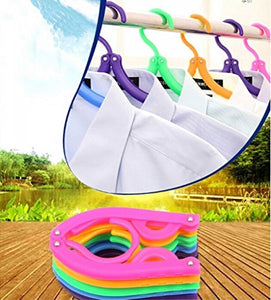 Foldable Clothes Hangers Travel Hangers Rainbow Will Portable Magic Clothing Drying Rack Pack of 5