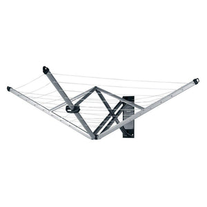 Brabantia Wallfix Wall-Mounted Rotary Dryer -78 ft, 375842