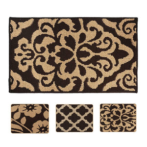 YK Decor Front Door Mat Inside Entryway Mat Indoor Floor Mat for Home Entrance Shoes Mat Non Slip Entry Rug Welcome Door Rug Dirt Mud Trapper Mats