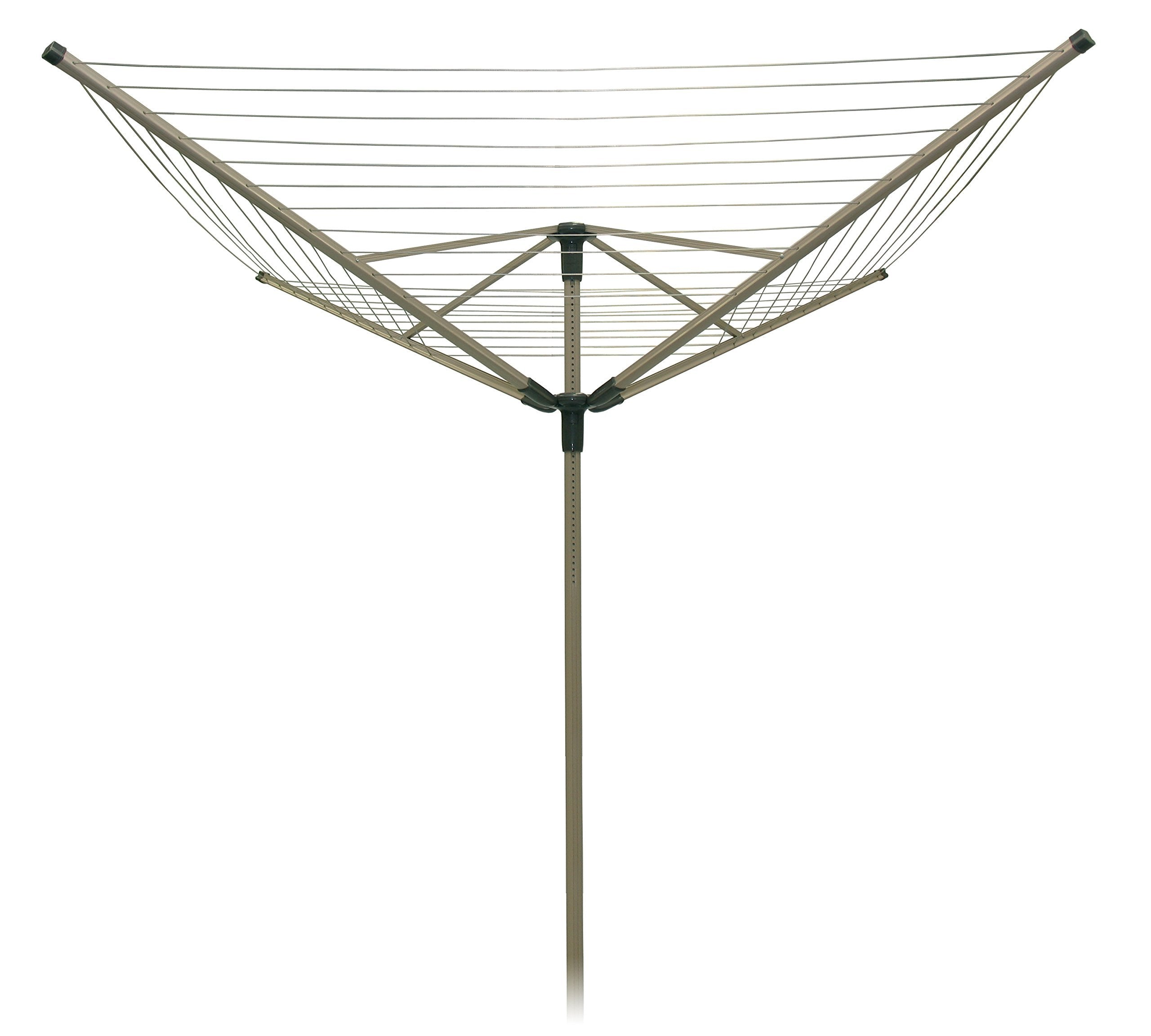 Strata Outdoor Rotary Dryer Clothes Line (194', Sahara Beige)