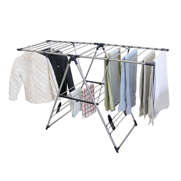 Deluxe Fold Away Laundry Racks