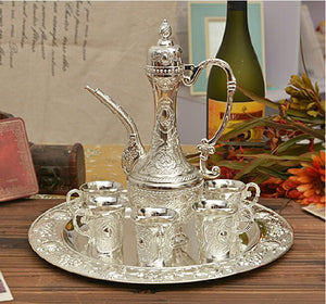 Gathering Silver Plated Serving Set - commoditeas