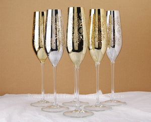 Happily Ever After Champagne Flutes - commoditeas