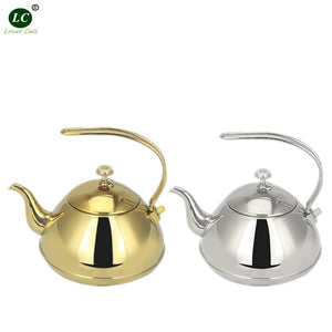 CommodiTeas Stainless steel Teapot with Filter - commoditeas