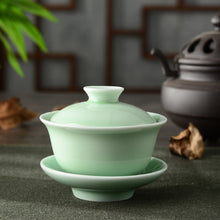 Load image into Gallery viewer, Dynasty Celadon Teacup - commoditeas