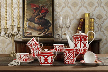Load image into Gallery viewer, Garden Gate 15PCS Bone China Coffee Set - commoditeas