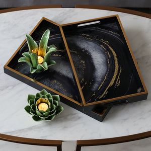 Galaxy Agate Serving Tray - commoditeas