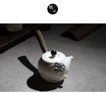 Load image into Gallery viewer, Lavette White Jade Tea Set - commoditeas