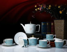 Load image into Gallery viewer, Michelle Afternoon Teapot Sugar Milk Pot Cup And Saucer - commoditeas