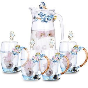 Lena Mae glassware collection - commoditeas