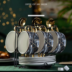 Urban Quilt Coffee Cup Set - commoditeas