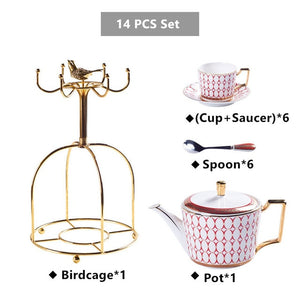 Stadium Porcelain Tea Set - commoditeas