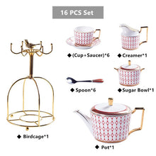 Load image into Gallery viewer, Stadium Porcelain Tea Set - commoditeas