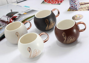 Lavette Swan Ceramic Mug - commoditeas