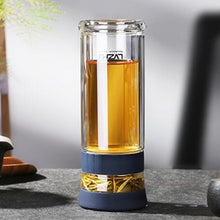 Load image into Gallery viewer, Loft Travel Mug with Tea Infuser - commoditeas