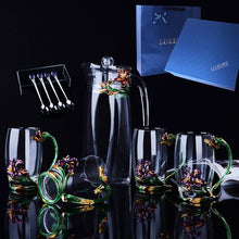 Load image into Gallery viewer, Midsummer Night's Dream Enamel Beverage Set - commoditeas