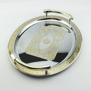 Renaissance Stainless Steel Dinner Tray - commoditeas