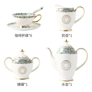 Gumball Bone China Coffee Cup Set - commoditeas