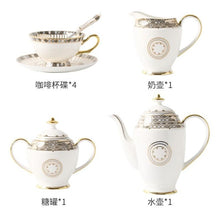 Load image into Gallery viewer, Gumball Bone China Coffee Cup Set - commoditeas