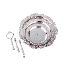 Load image into Gallery viewer, Lavette Silver-plated Afternoon Server - commoditeas