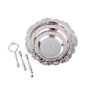 Lavette Silver-plated Afternoon Server - commoditeas