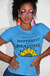 Beautifully Different Women's short sleeve t-shirt