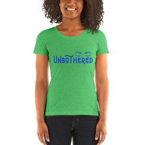 Unbothered Ladies' short sleeve t-shirt