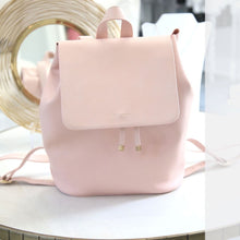 Copperfield Drawstring Backpack- Blush