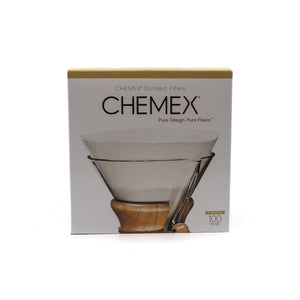 Chemex replacement filter papers box of 100