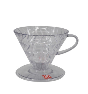 Hario v60 pourover filter coffee maker