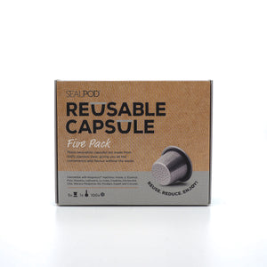 Reusable Capsule Five Pack {for Nespresso®}