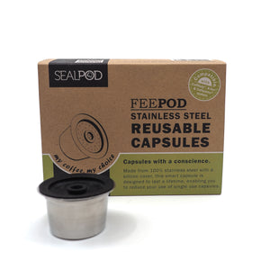 Reusable Capsule Starter Pack {for Caffitaly® & Aldi® K-fee®}