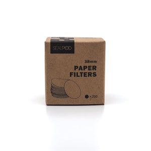 Reusable Capsule Paper Filters {for Caffitaly® & Aldi® K-fee®}
