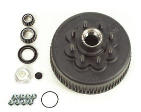Brake Drum & Hub, HD 8K Axle