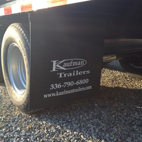 "24"" Mud Flap w/ Kaufman Logo"