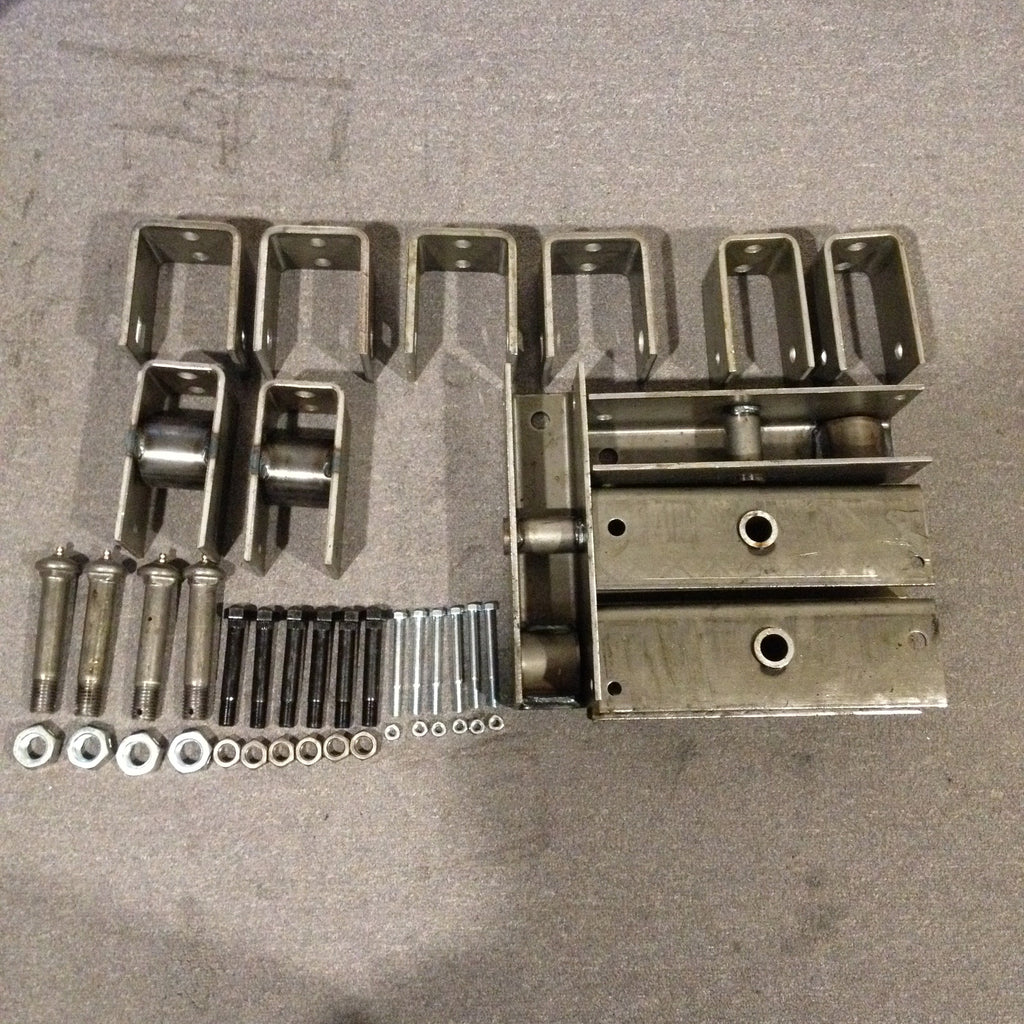 Axle Hanger Kit Triple Axle 6/7K for slipper leaf Spring