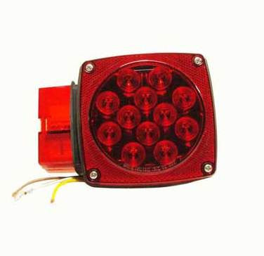 LIGHT LED LEFT STOP/TURN/TAIL 80""