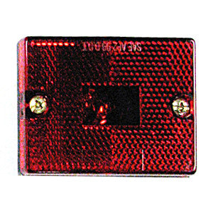 LIGHT STD RED SQUARE SIDE MARKER
